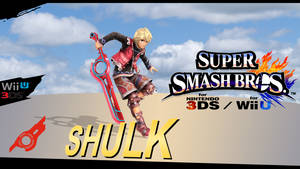 Super Smash Bros. Evolution S.O: Shulk by dragonnjmb