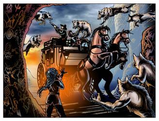 Wolfshead Massacre by JonGerung