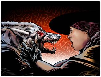 Wolfshead Showdown by JonGerung
