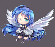 [Chibi Request] Blue by Nomellie