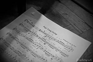 Pagi Yang Gelap Notation