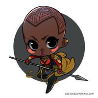 Black Panther Chibis -- Okoye