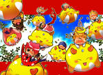 The Yellow Invasion