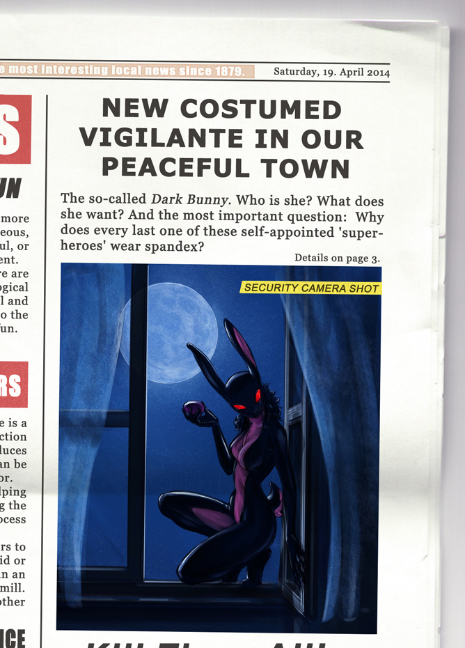 Dark Bunny - News by 12-tf