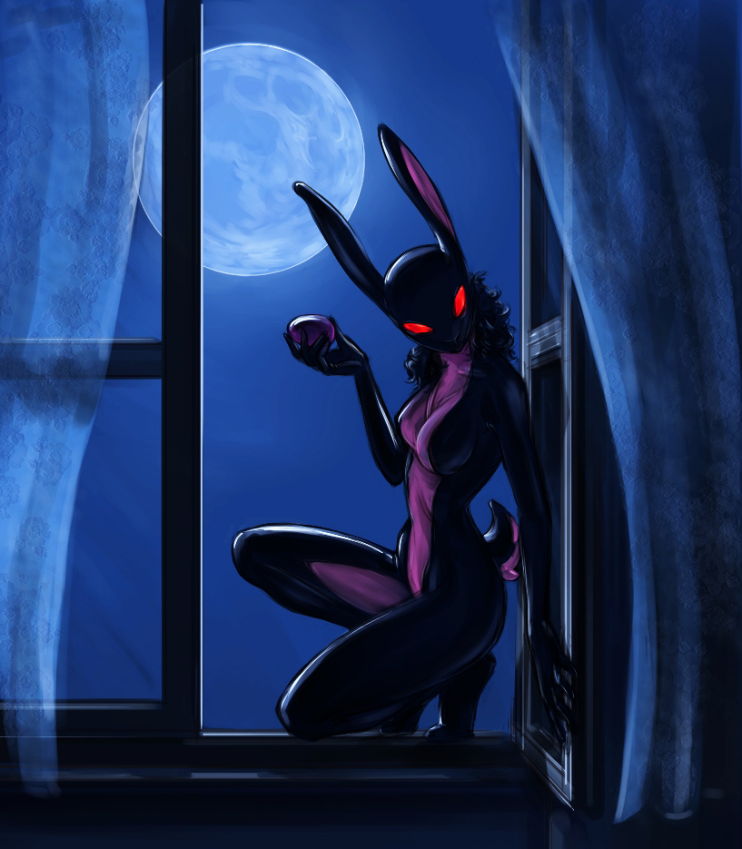 Dark Bunny - Original by 12-tf