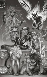 Halloween 2018 by 12-tf
