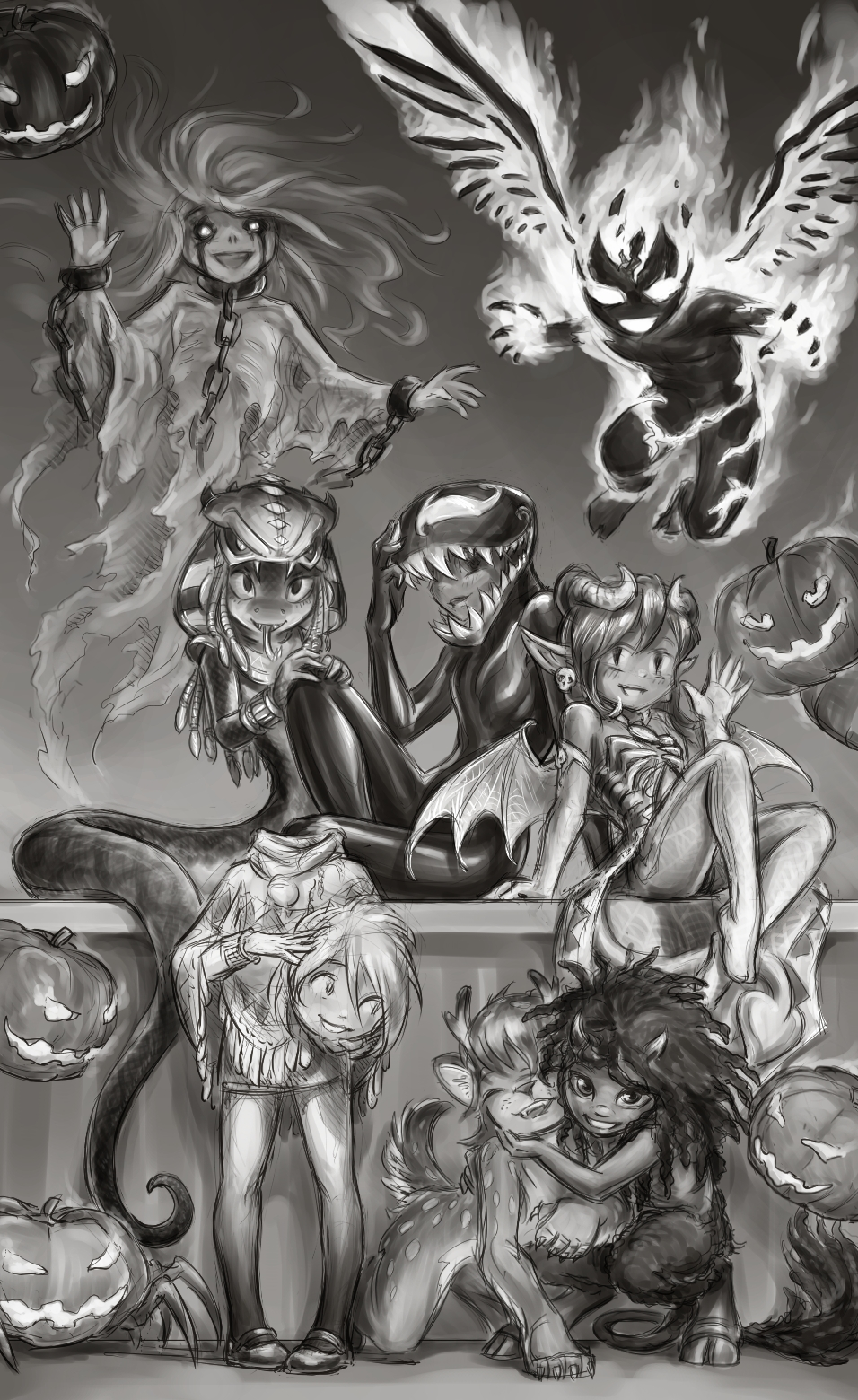 Halloween 2018 by 12-tf