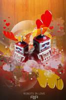 Robots in love by AagaardDS