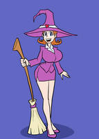 Annalise - the Insurance witch by joncomms