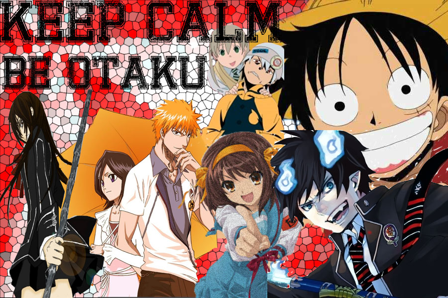 Keep Calm Be Otaku By Thebananacrisp