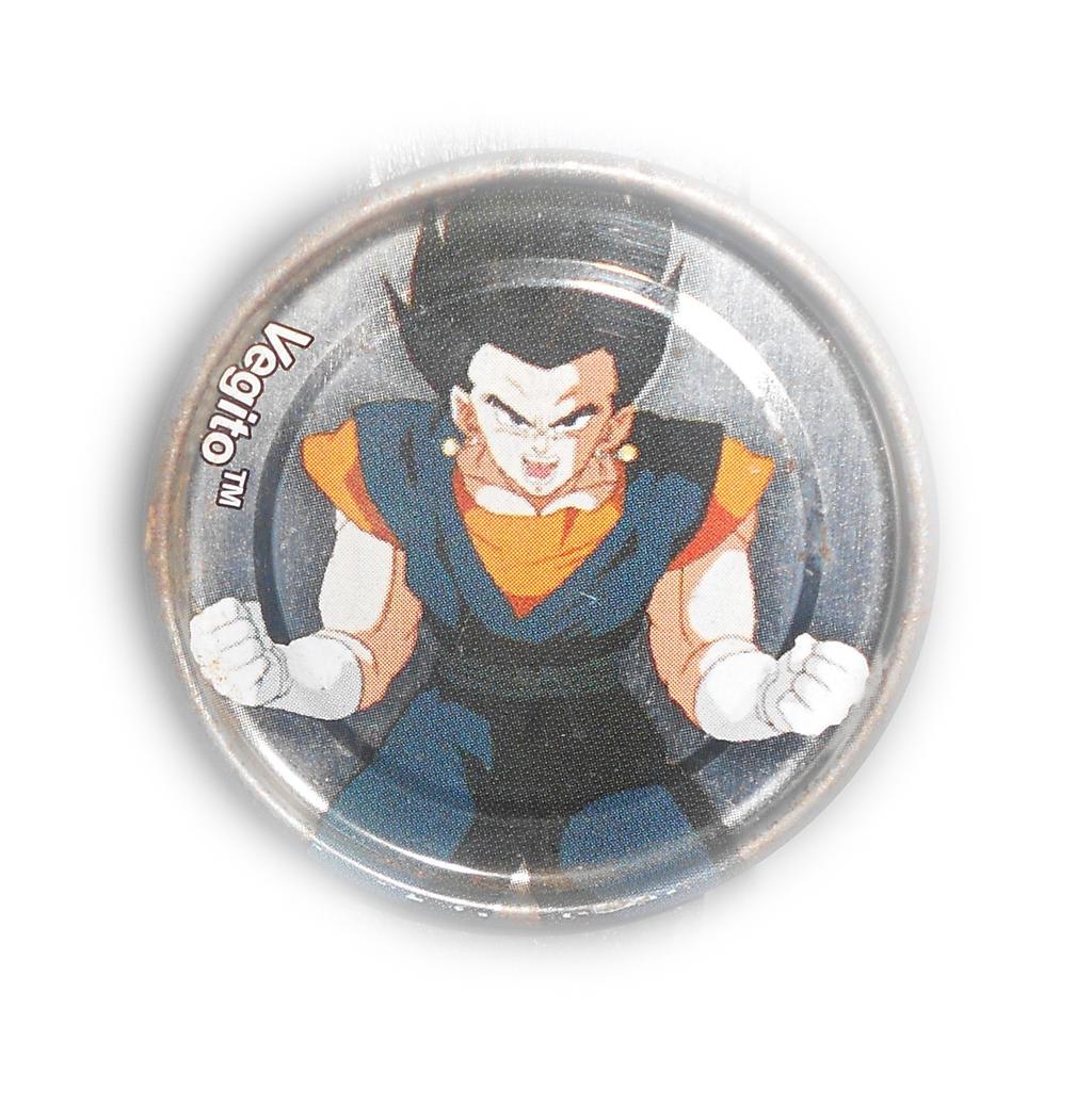 Dragon Ball Z Metal Tazo Collection (Silver) 44 By Teage