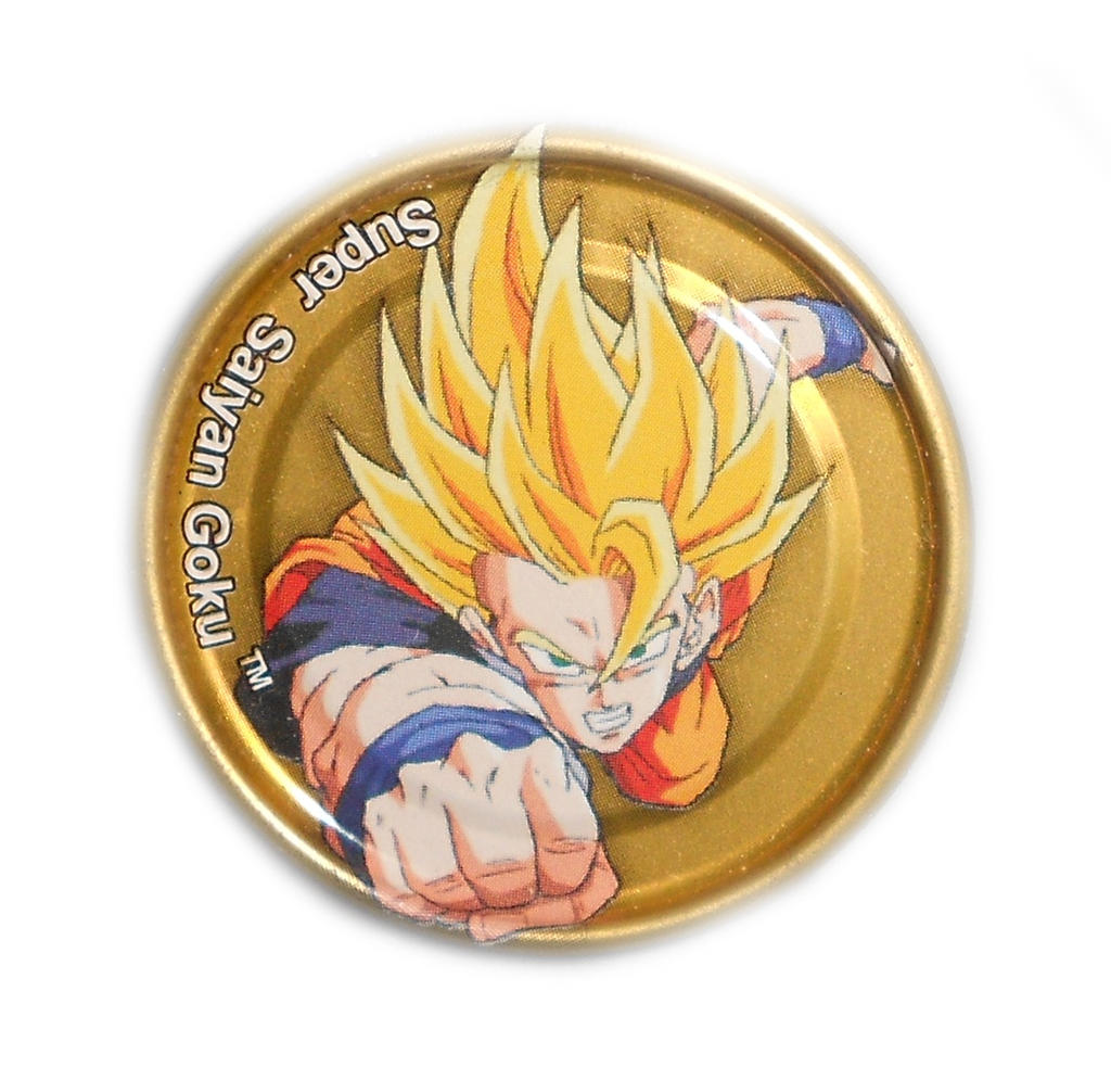 Dragon Ball Z Metal Tazo Collection (Gold) 63 By Teage