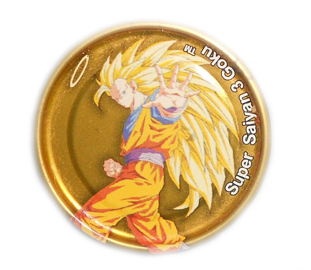 Dragon Ball Z Metal Tazo Collection (Gold) 65 By Teage