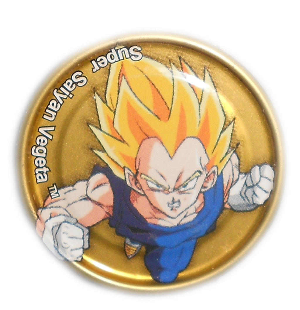 Dragon Ball Z Metal Tazo Collection (Gold) 66 By Teage
