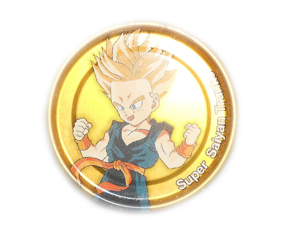 Dragon Ball Z Metal Tazo Collection (Gold) 74 By Teage