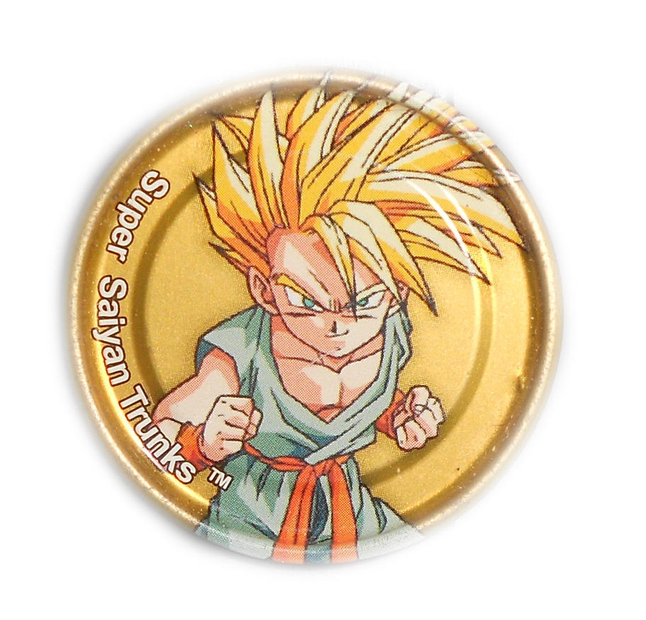 Dragon Ball Z Metal Tazo Collection (Gold) 75 By Teage