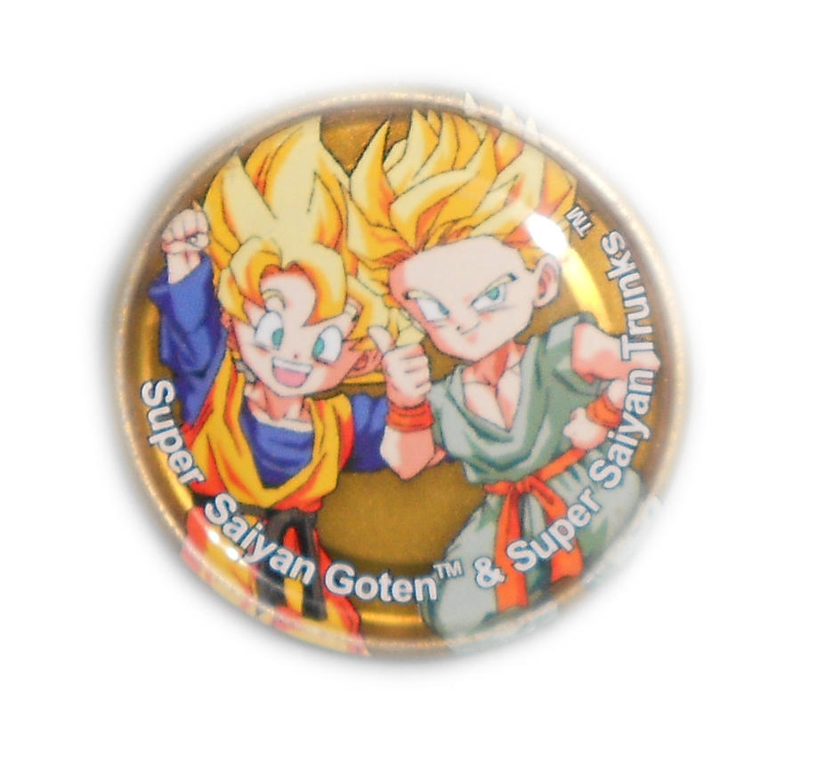 Dragon Ball Z Metal Tazo Collection (Gold) 77 By Teage