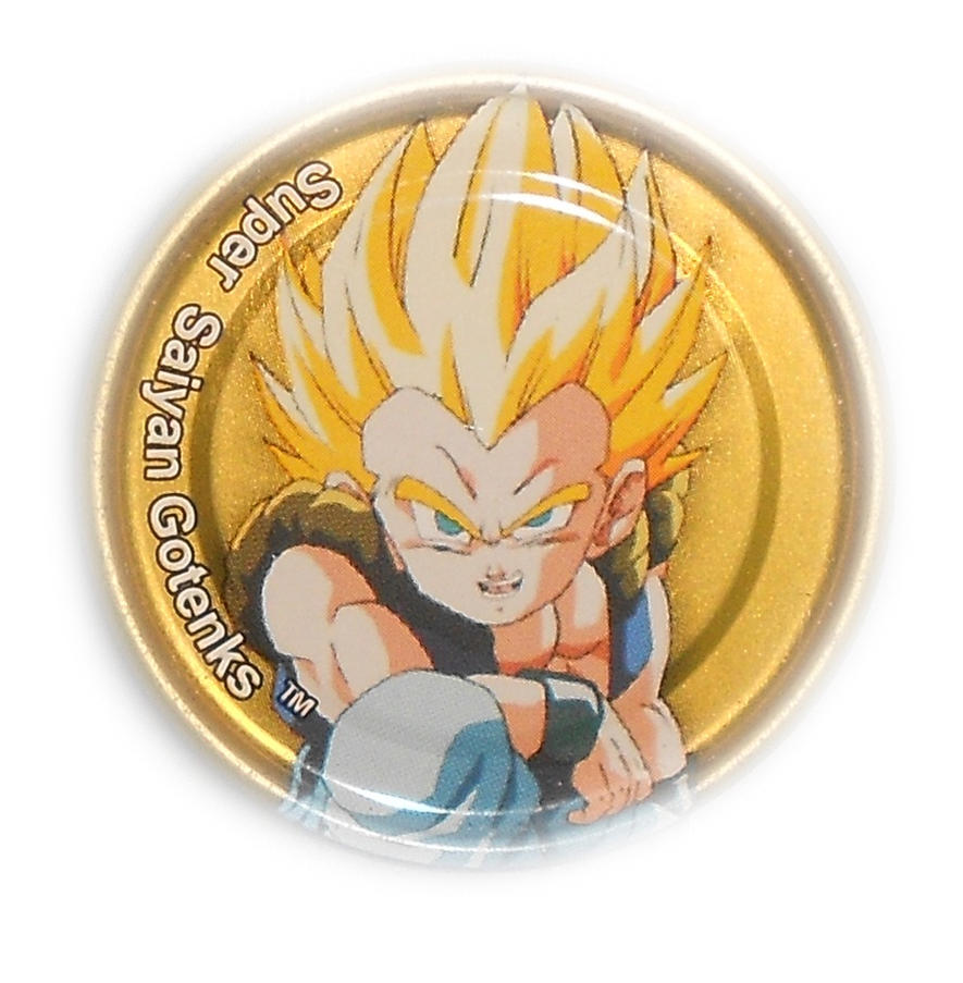 Dragon Ball Z Metal Tazo Collection (Gold) 79 By Teage