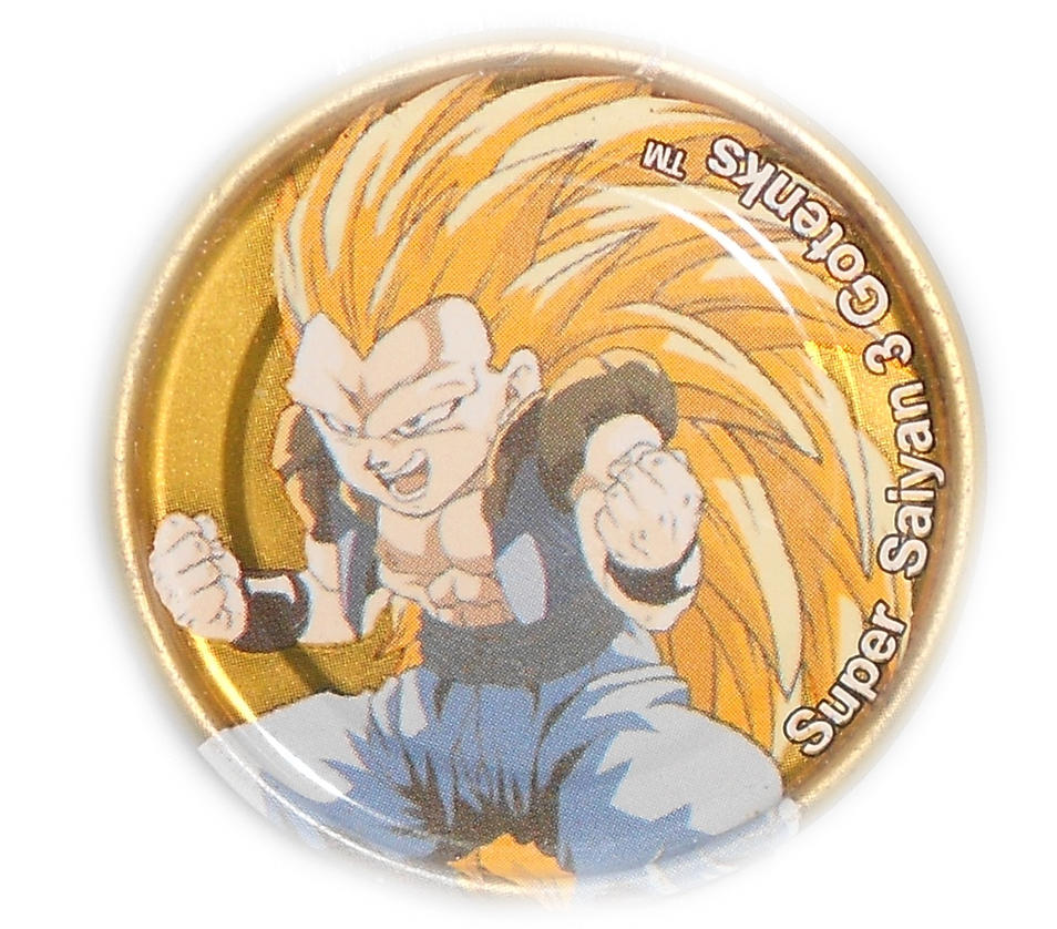 Dragon Ball Z Metal Tazo Collection (Gold) 80 By Teage