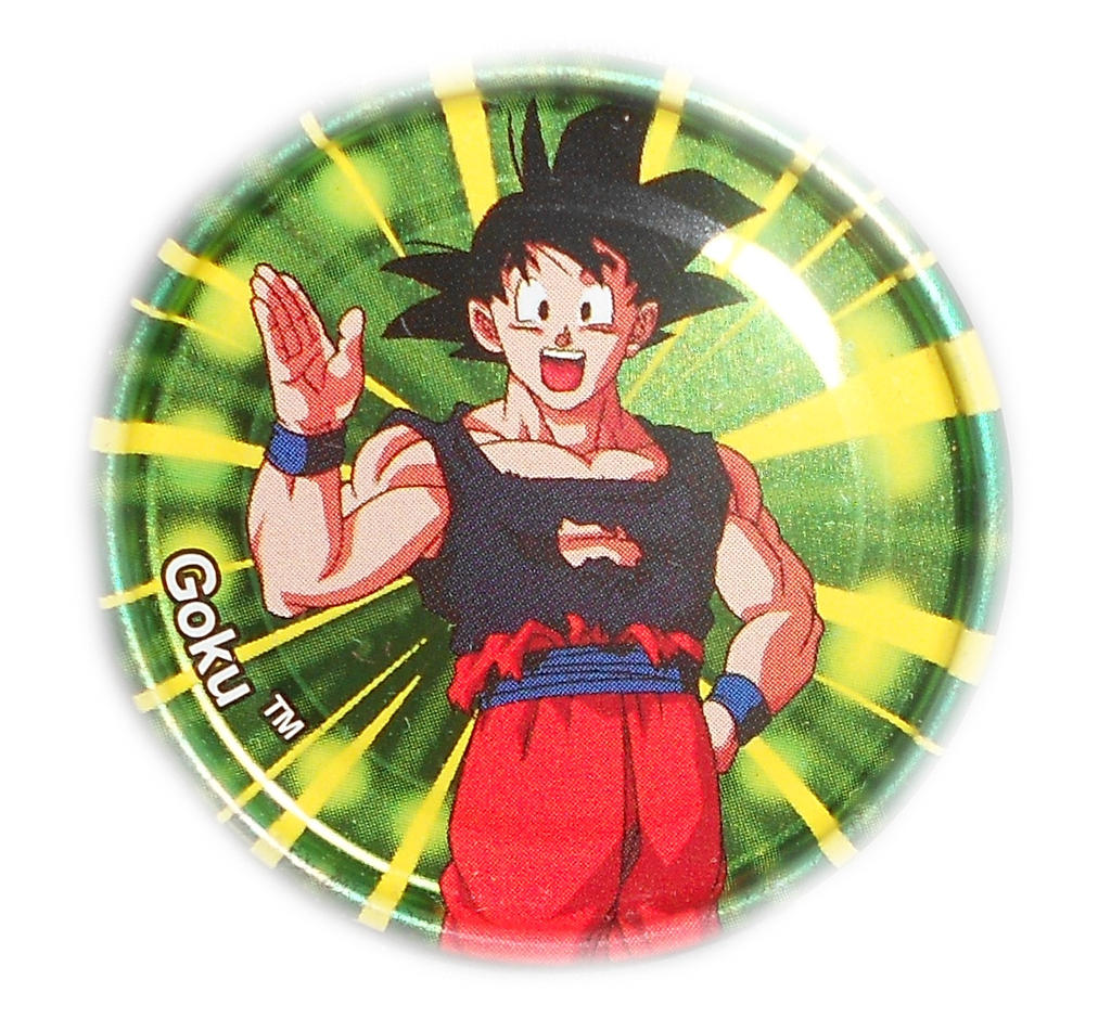 Dragon Ball Z Metal Tazo Collection (Click) 81 By Teage