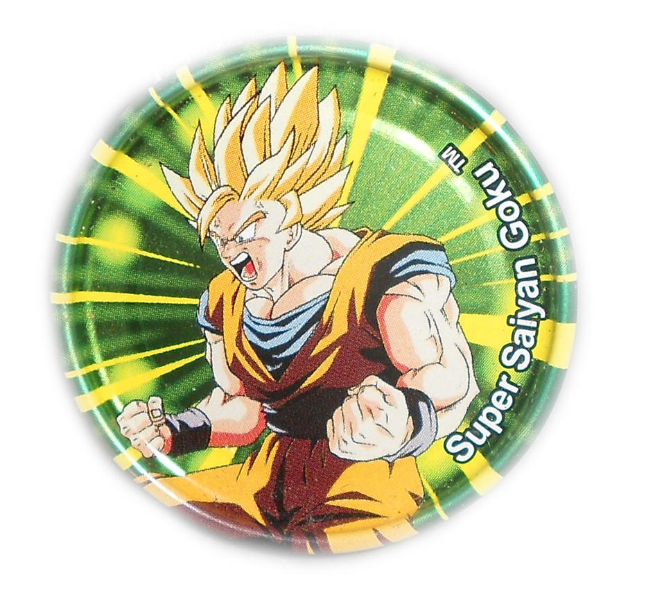 Dragon Ball Z Metal Tazo Collection (Click) 82 By Teage
