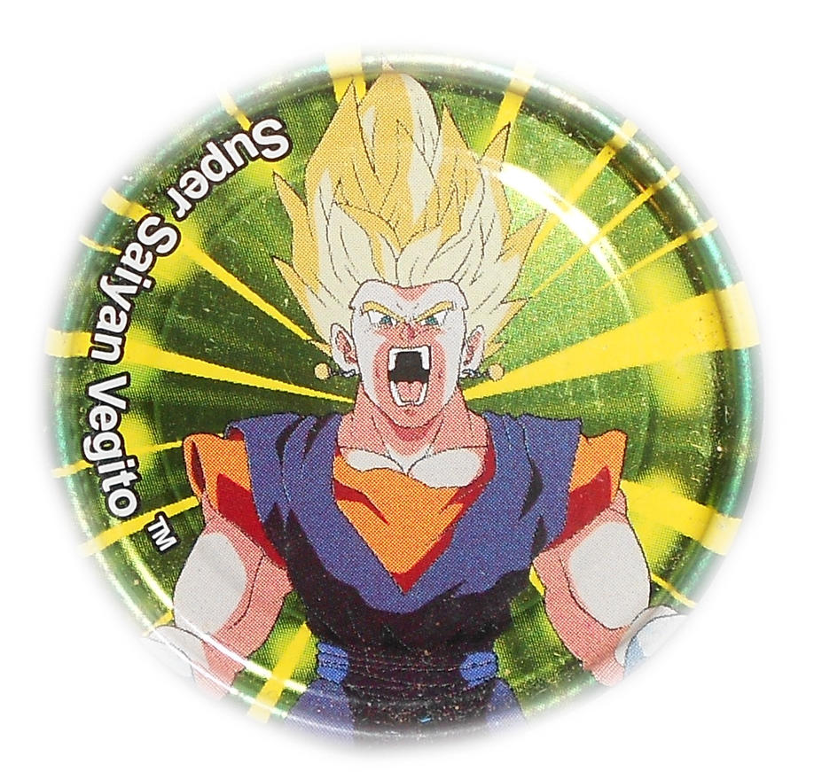 Dragon Ball Z Metal Tazo Collection (Click) 86 By Teage
