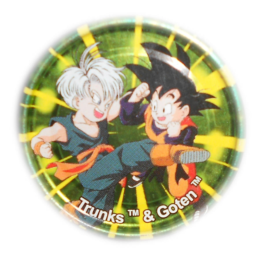 Dragon Ball Z Metal Tazo Collection (Click) 87 By Teage