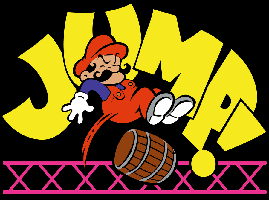 Jump Man Shirt Design by Mrockz