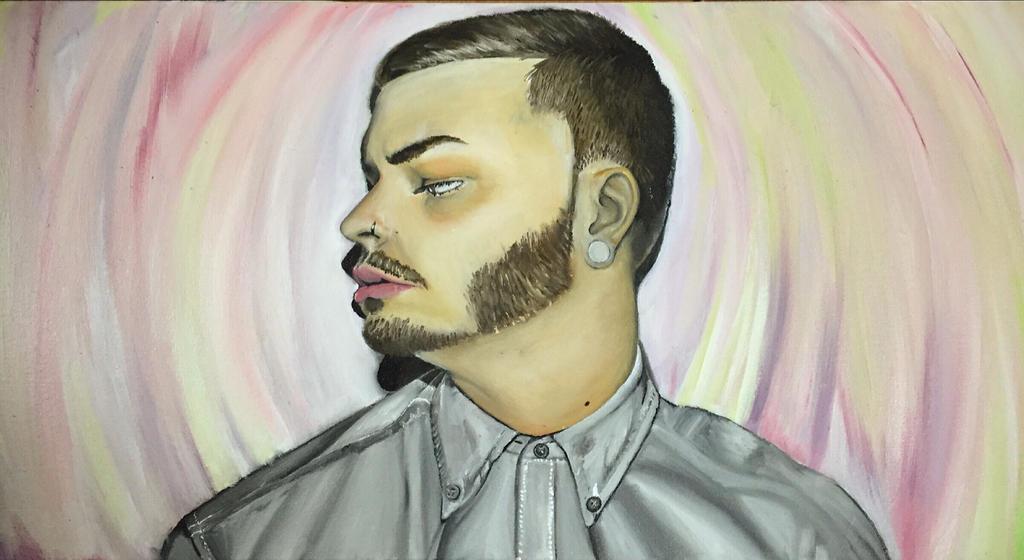 Ken's self portrait  by xkelciekoolaidx