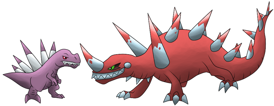 Shrapnesaur and Tetanusaur by T-Reqs