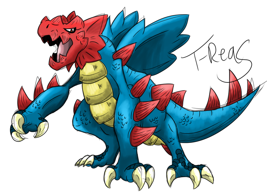 Druddigon by T-Reqs