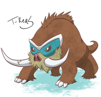 Mamoswine by T-Reqs