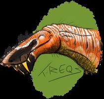 Gorgonopsid by T-Reqs