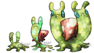 Slime Snail Fakemon by T-Reqs