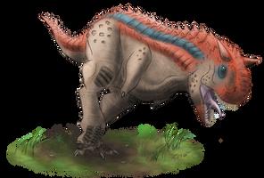 Primal Carnage: Carnotaurus by T-Reqs