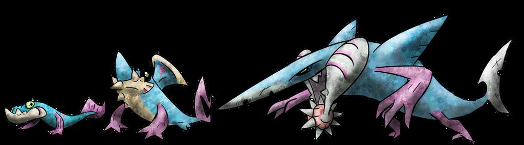Blade Shark Fakemon By T Reqs On Deviantart