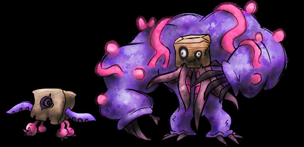 Hideous Fakemon by T-Reqs