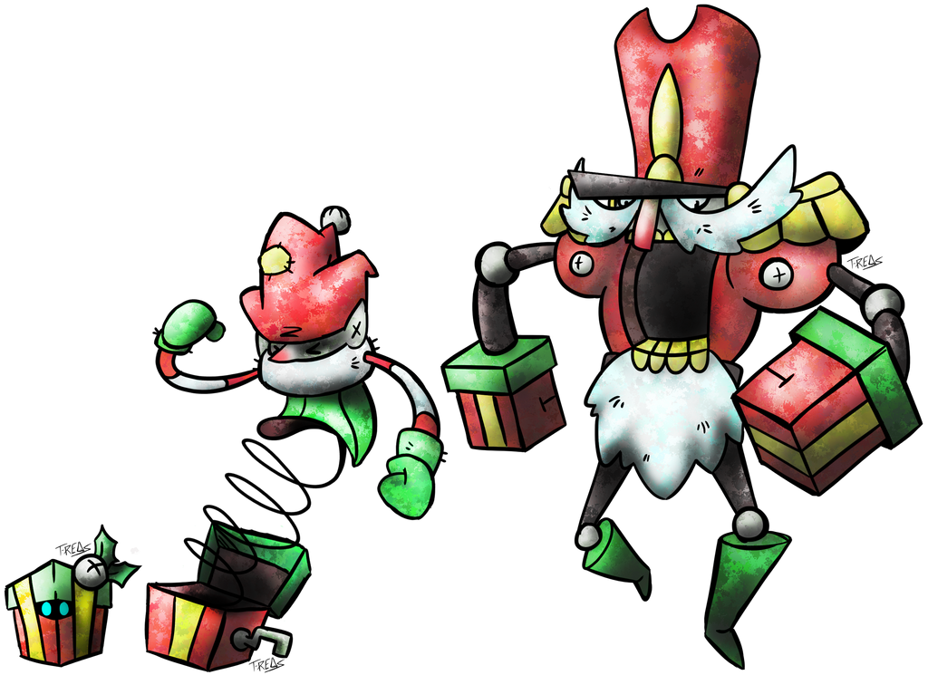 Holiday Present Fakemon by T-Reqs