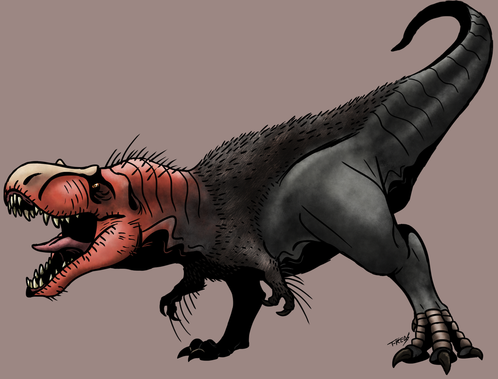 Tyrannosaurus by T-Reqs