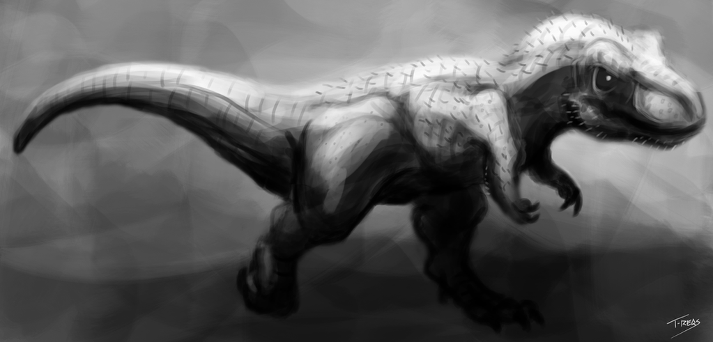 Tyrannosaur by T-Reqs