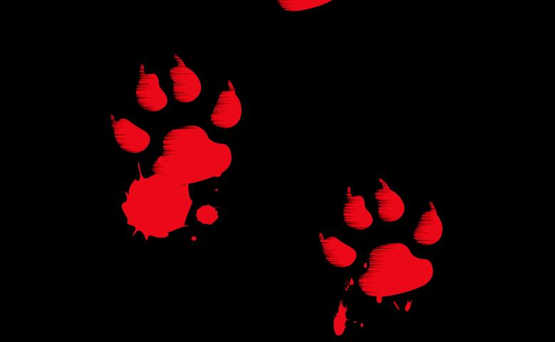 Murder Mystery October 2015 Bloody_paw_prints_by_wolf_kid
