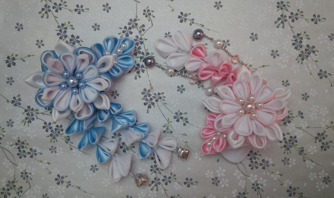 Winter Hairpins Set by YamiAijin