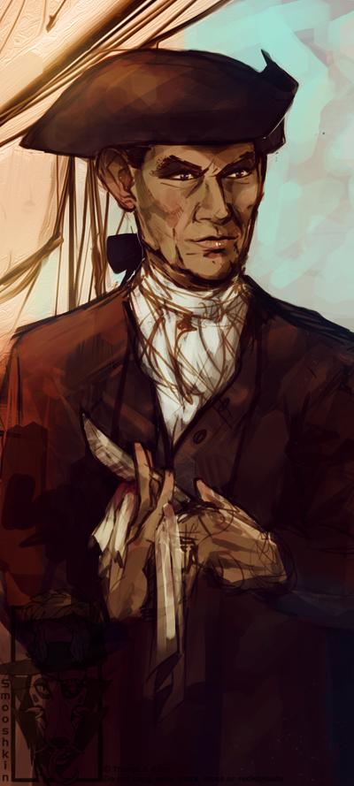Mr. Mercer by Smooshkin