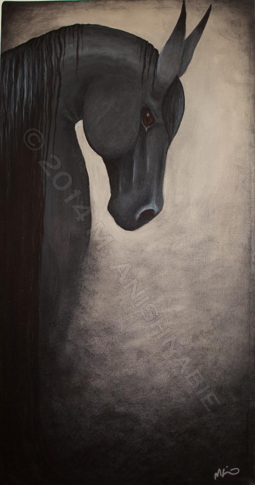 Horse by fragilemuse-org