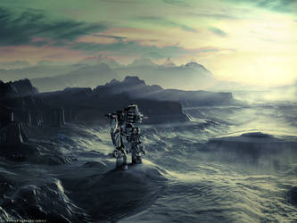 The Dawn Of Starlight by RuslanKadiev
