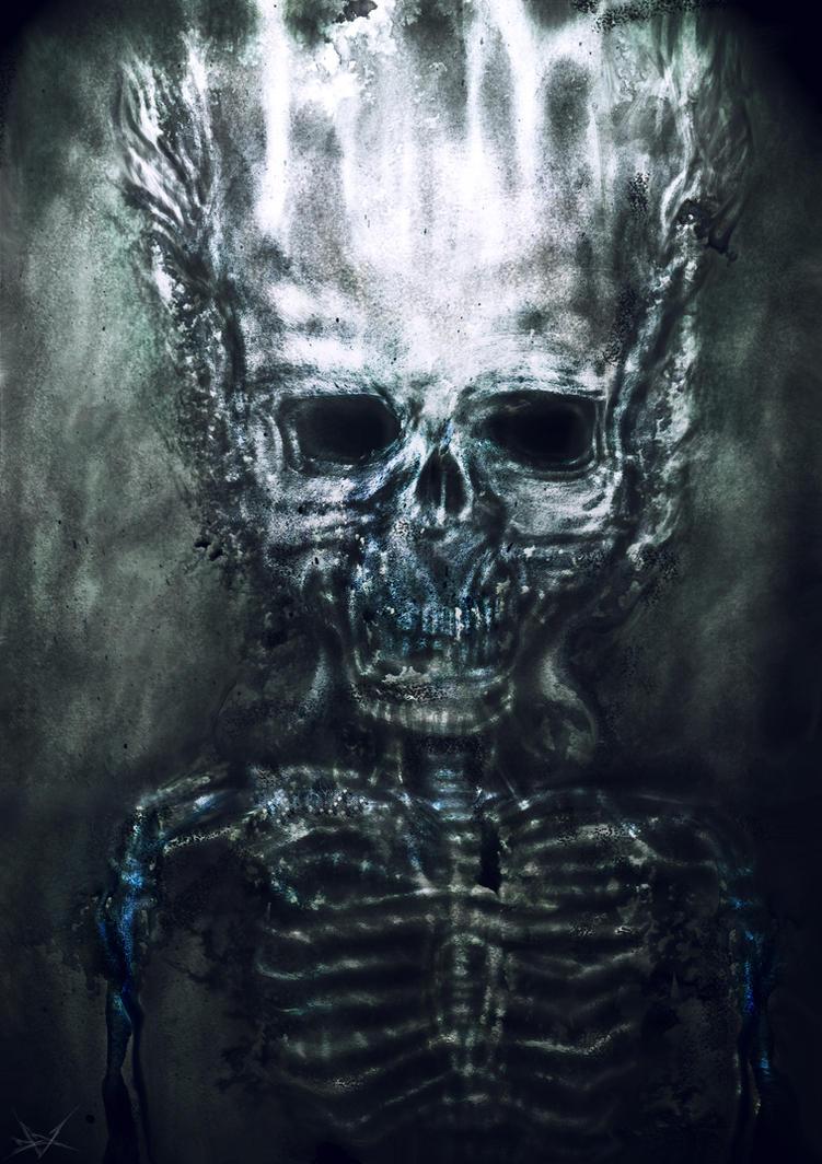 Skeleton Soul by RuslanKadiev