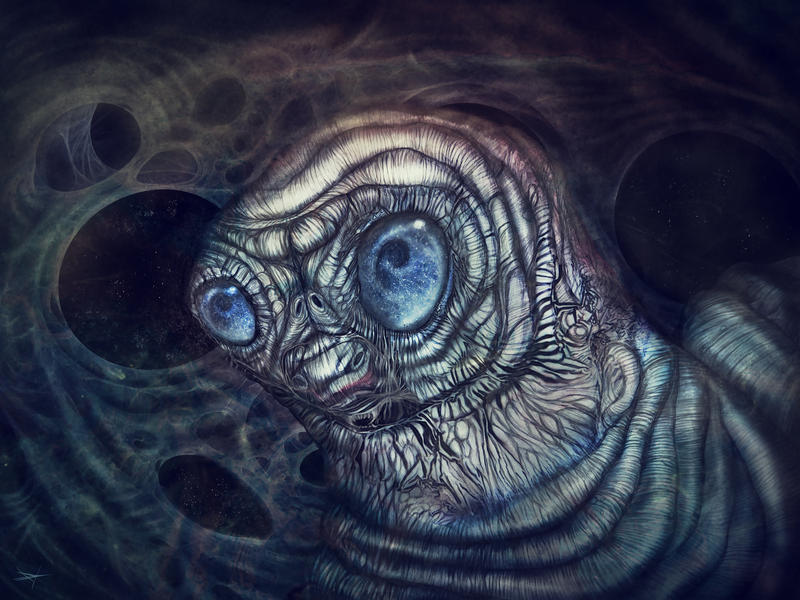 Cosmic Caterpillar