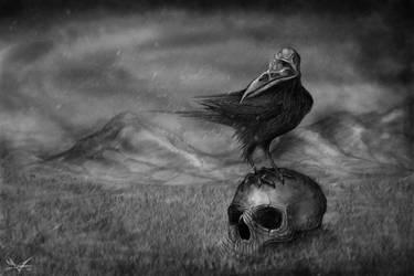 The Bird of Destruction by RuslanKadiev