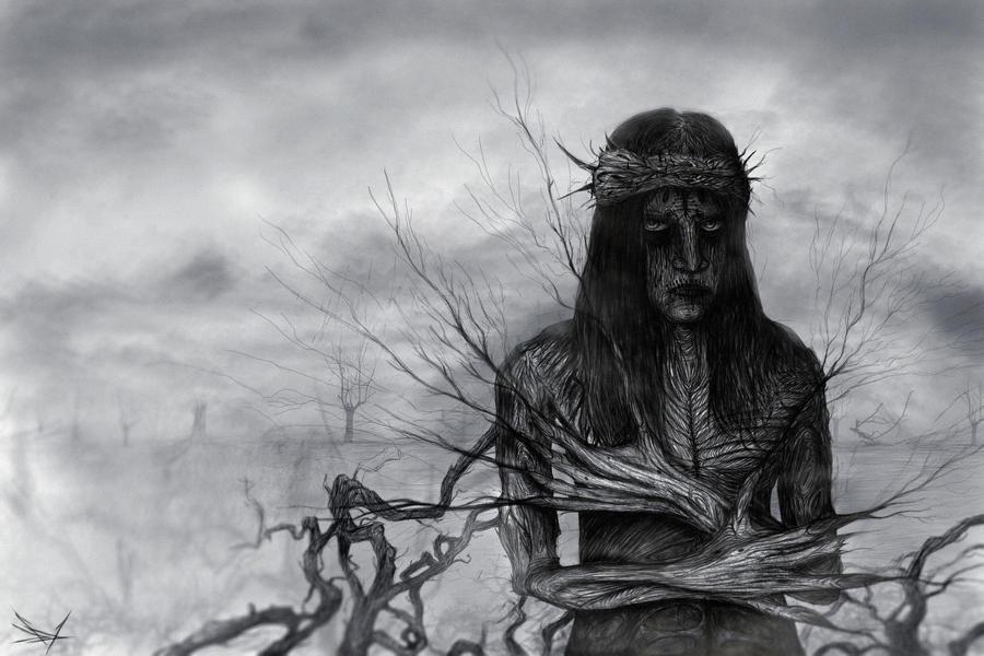 The Man of Tree (Slipknot - Joey Jordison) by RuslanKadiev