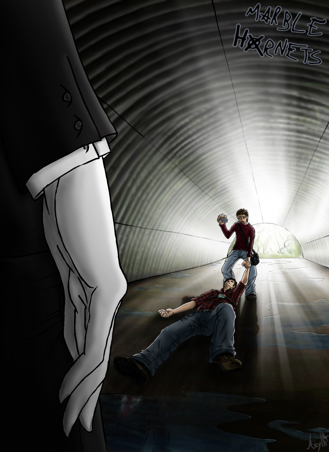 marble hornets 64 get up tim by axylh on deviantart